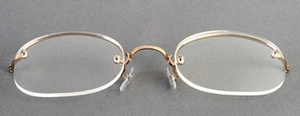 Art-Craft Rimway Yellow/Rectangle/Skull Temples
