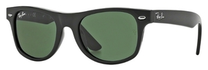 Ray Ban Junior RJ9035S Black with Green Lenses