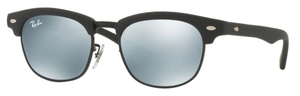 Ray Ban Junior RJ9050S Matte Black/Grey Flash Lens-not rx'able