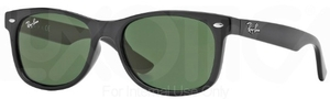 Ray Ban Junior RJ9052S Black with Green Lenses