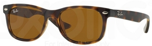 Ray Ban Junior RJ9052S Shiny Havana w/ Brown Lenses