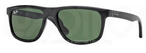Ray Ban Junior RJ9057S Black w/ Green Lenses