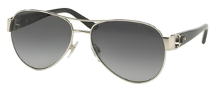 Ralph Lauren RL7047Q Silver w/ Gradient Grey POLAR Lenses