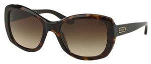 Ralph Lauren RL8132 Dark Havana w/ Brown Gradient Lenses