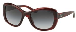 Ralph Lauren RL8132 Stripped Red Havana w/ Grey Gradient Lenses