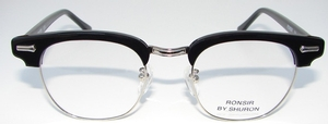 Shuron Ronsir Zyl Ebony/Black with Slipper Temples