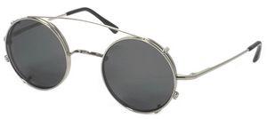 Dolomiti Eyewear Round Sunclip Sunglasses