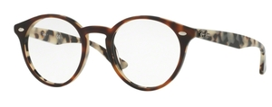 Ray Ban Glasses RX2180V Top Brown Havana On Avana Beige