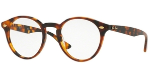 Ray Ban Glasses RX2180V Top Havana Brown on Havana yel