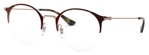Ray Ban Glasses RX3578V Copper on Top Havana