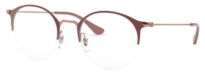 Ray Ban Glasses RX3578V Copper on Top Light Brown