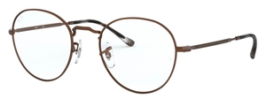 Ray Ban Glasses RX3582V Sand Transparent Brown