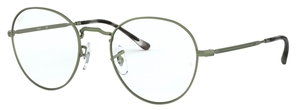 Ray Ban Glasses RX3582V Sand Transparent Green