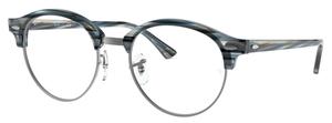 Ray Ban Glasses RX4246V Blue/Grey Striped