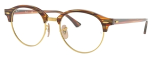 Ray Ban Glasses RX4246V Brown/Beige Striped