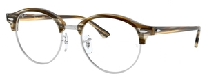 Ray Ban Glasses RX4246V Brown/Grey Striped