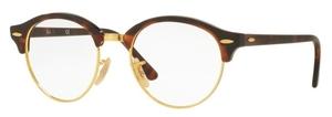 Ray Ban Glasses RX4246V Red Havana