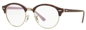 Ray Ban Glasses RX4246V Top Havana On Opal Violet