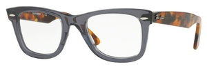 Ray Ban Glasses RX5121 Wayfarer Opal Grey