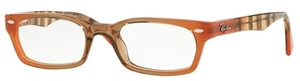 Ray Ban Glasses RX5150 Gradient Brown On Orange