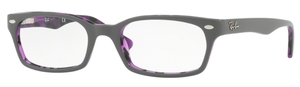 Ray Ban Glasses RX5150 Top Grey on Havana Violet
