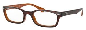 Ray Ban Glasses RX5150 Top Havana on Light Brown