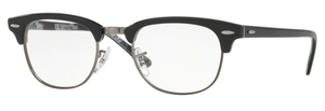 Ray Ban Glasses RX5154 Clubmaster Black On Texture Camuflage