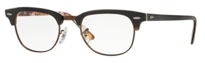Ray Ban Glasses RX5154 Clubmaster Havana On Tex Camuflage