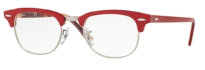 Ray Ban Glasses RX5154 Clubmaster Red On Texture Camuflage