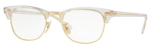 Ray Ban Glasses RX5154 Clubmaster Transparent
