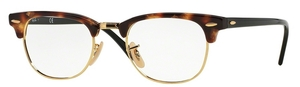 Ray Ban Glasses RX5154 Clubmaster Brown Havana