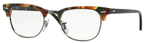 Ray Ban Glasses RX5154 Clubmaster Green Havana