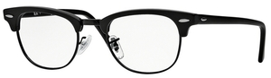 Ray Ban Glasses RX5154 Clubmaster Matte Black  2077
