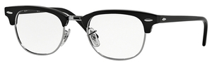 Ray Ban Glasses RX5154 Clubmaster Shiny Black
