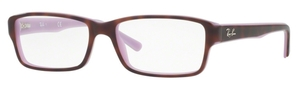 Ray Ban Glasses RX5169 Top Havana On Opal Violet