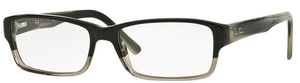 Ray Ban Glasses RX5169 Grey Horn Grad Trasp Grey