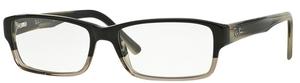 Ray Ban Glasses RX5169 Grey Horn Grad Trasp Grey