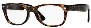 Ray Ban Glasses RX5184 New Wayfarer Dark Havana
