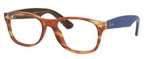 Ray Ban Glasses RX5184 New Wayfarer Light Brown Havana