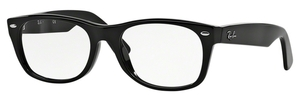 Ray Ban Glasses RX5184 New Wayfarer Shiny Black