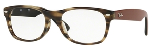 Ray Ban Glasses RX5184F Asian Fit Havana Green