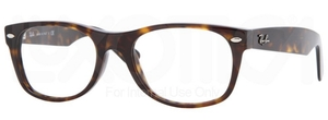 Ray Ban Glasses RX5184F Asian Fit Dark Havana