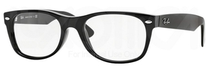Ray Ban Glasses RX5184F Asian Fit Shiny Black