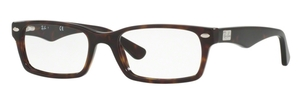 Ray Ban Glasses RX5206 Dark Havana