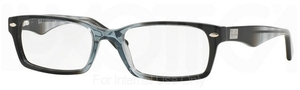 Ray Ban Glasses RX5206 Gradient Grey On Black