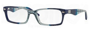 Ray Ban Glasses RX5206 Gradient Grey on Blue