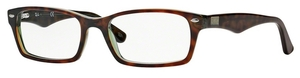 Ray Ban Glasses RX5206 Havana/Green