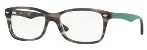 Ray Ban Glasses RX5228 GREY GREEN HAVANA