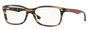 Ray Ban Glasses RX5228 Havana Green