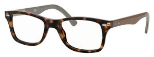 Ray Ban Glasses RX5228 Havana W/Brown Temples